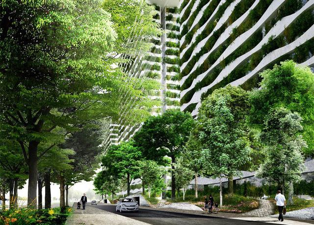 Công trình xanh hiện rất hạn chế tại Việt Nam.