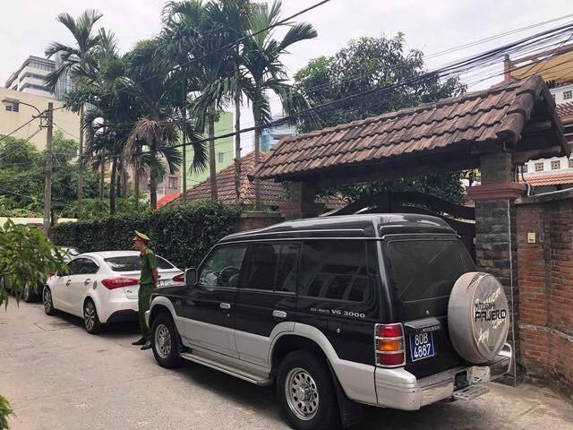 Công an khám xét nhà riêng ông Trần Văn Minh - cựu Chủ tịch Đà Nẵng đã bị khởi tố và bắt tạm giam hồi tháng 4/2018.