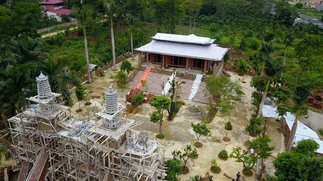 Công trình cung điện công chúa xây dựng trên diện tích 9.000 m2