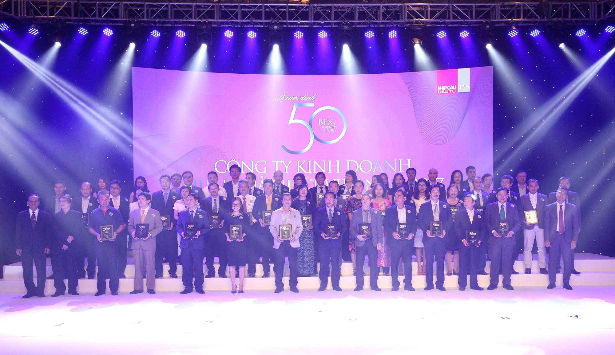 Sabeco nằm trong Top 500 doanh nghiệp kinh doanh hiệu quả nhất Việt Nam