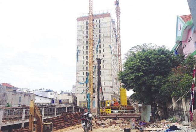 Mắc nhiều vi phạm, chủ đầu tư Tân Bình Apartment bị phạt hơn 1,6 tỷ đồng