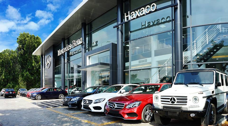 Haxaco là 1 trong 3 doanh nghiệp phân phối chính thức Mercedes tại Việt Nam