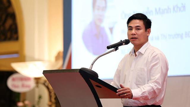 Ông Nguyễn Mạnh Khởi, Phó cục trưởng Cục Quản lý nhà và thị trường bất động sản.