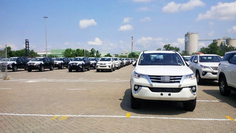 Lượng xe nhập tháng 7 bằng nửa năm, xe Thái, Indonesia
