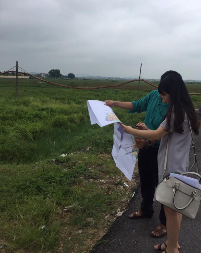 Khu đất dự kiến thu hồi để làm dự án khu đô thị DaBaCo vẫn còn là cánh đồng (hiện tỉnh Bắc Ninh đang làm các thủ tục báo cáo Thủ tướng Chính Phủ)