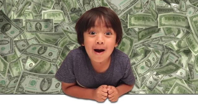 Kênh Ryan ToyReview có 10 triệu người theo dõi, đạt doanh thu quảng cáo khoảng 1 triệu USD/tháng. (Nguồn: The Siasat Daily)