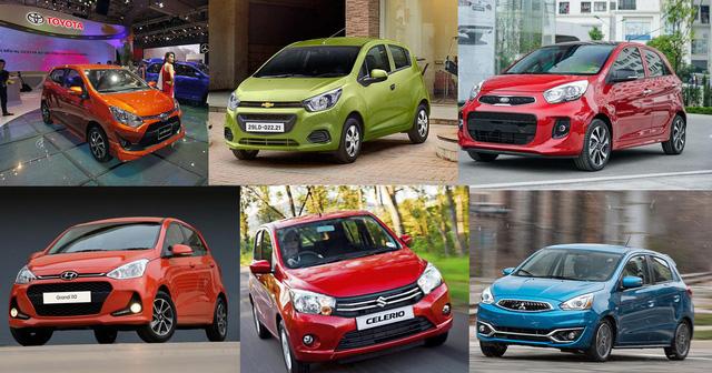 Thị trường xe nhỏ đang có sự cạnh tranh quyết liệt giữa xe lắp ráp trong nước và xe nhập khẩu miễn thuế.