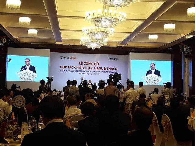 Thủ tướng Chính phủ Nguyễn Xuân Phúc cho biết việc hợp tác của 2 doanh nghiệp rất môn đăng hộ đối