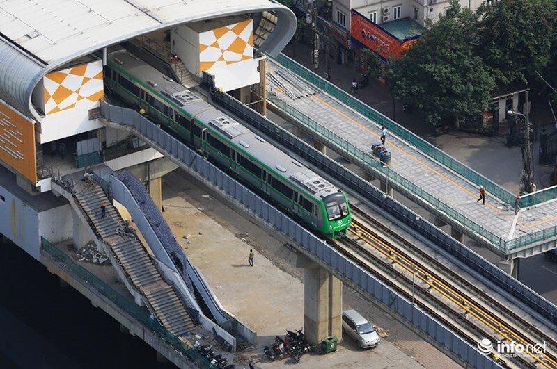 Gần 700 nhân sự tham gia vận hành đường sắt Cát Linh - Hà Đông