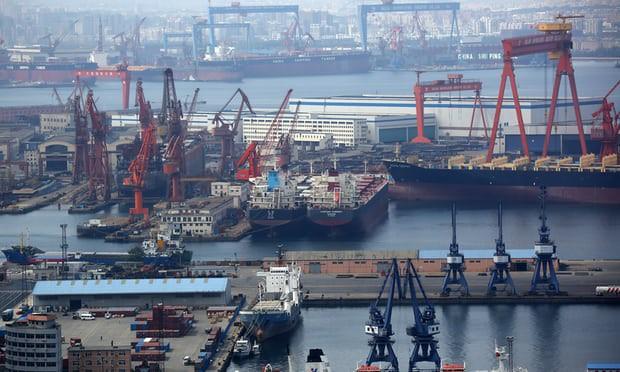 Lý do tàu hàng Mỹ lòng vòng ngoài khơi Trung Quốc suốt 1 tháng