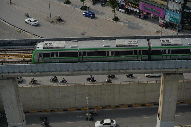 Tàu trên cao Cát Linh - Hà Đông: Vận tốc 35 km/h, vé đắt hơn buýt nhanh