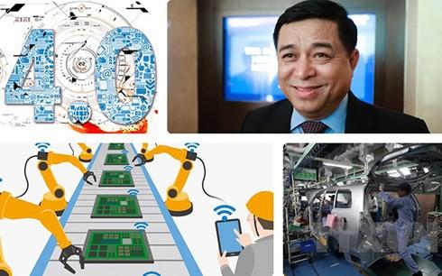 Bộ trưởng Nguyễn Chí Dũng coi CMCN 4.0 là cơ hội để kinh tế Việt Nam bứt phá.