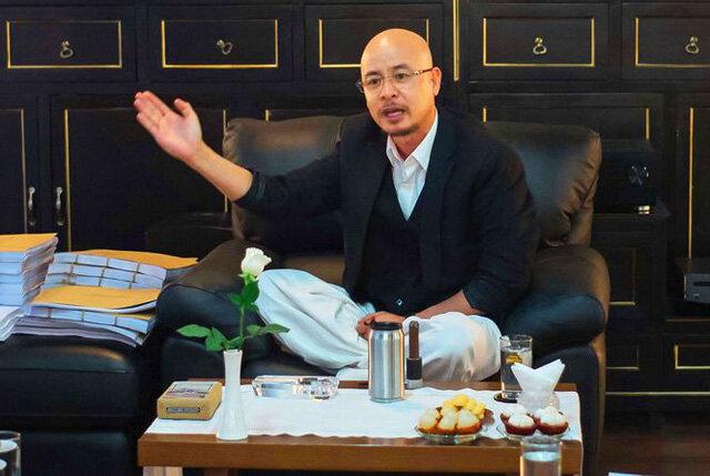 Ông Đặng Lê Nguyên Vũ bất ngờ gặp gỡ báo chí sau 5 năm