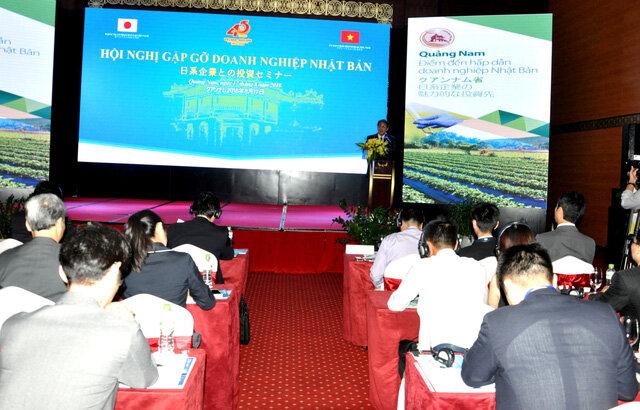 Quảng Nam quảng bá cơ hội đầu tư với các doanh nghiệp Nhật Bản