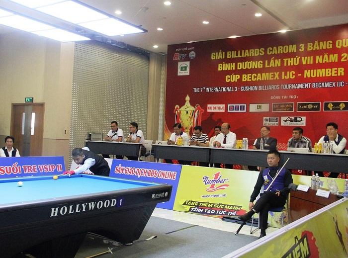 """64 trận đấu trong 3 ngày sẽ """"đốt nóng"""" giải Billiards Carom 3 băng quốc tế Bình Dương - Ảnh 4"""