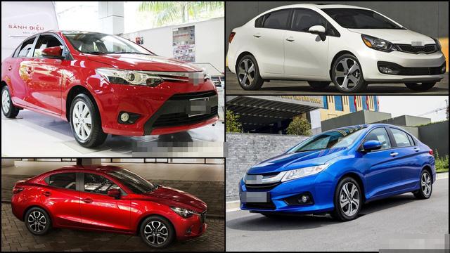 Các thương hiệu xe giá rẻ, xe tầm trung trong nước đang có doanh số bán ra so với xe nhập.