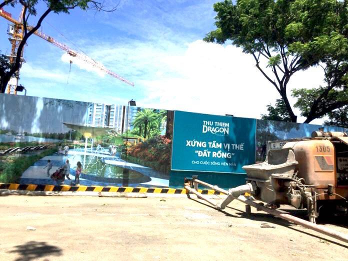 """""""Xé rào"""", Thủ Thiêm Group và Nhà thầu An Phong bị Sở Xây dựng TP.HCM """"sờ gáy"""""""