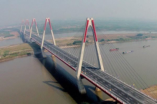 Cầu Nhật Tân sử dụng vốn vay Nhật Bản.