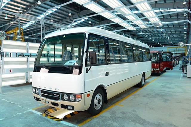 """Samco chi hàng trăm tỷ sản xuất xe khách Fuso Rosa nhưng """"thất bại""""?"""
