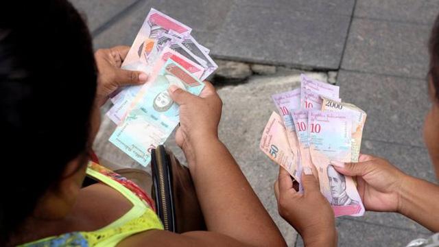 Đồng nội tệ mới của Venezuela chính thức đưa vào lưu thông từ ngày 20/8. (Ảnh: Reuters)