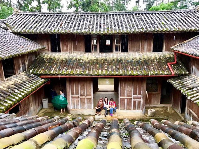 Toà dinh thự nhà họ Vương (Ảnh: Hoàng Ngọc)