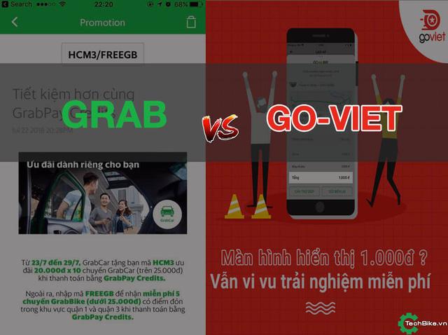 Sự xuất hiện của GO-VIET cũng sẽ khiến các ông lớn trong lĩnh vực gọi xe công nghệ phải e dè. Ảnh: Internet.