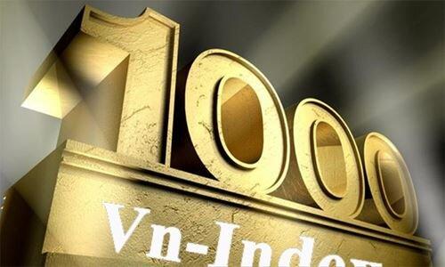 Bên mua thắng thế, VN-Index chinh phục mốc 1.000 điểm