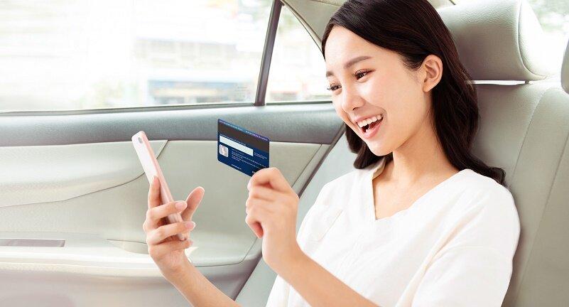 Hoàn tiền tới 500.000 đồng  khi đi Grab với  Thẻ tín dụng du lịch Maritime Bank Visa