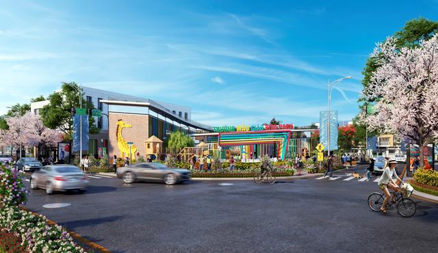 Viva Park được xây dựng theo mô hình đô thị khép kín cùng nhiều tiện ích cao cấp.
