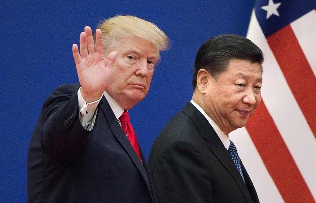 Tổng thống Mỹ Donald Trump và Chủ tịch Trung Quốc Tập Cận Bình (Ảnh: AFP)