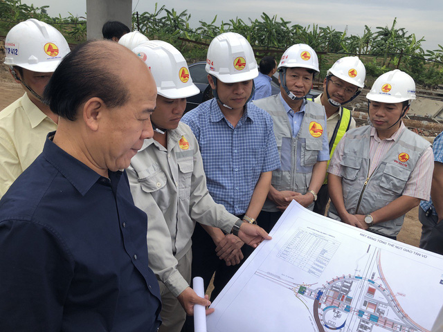 """""""Quyết"""" thông xe nút giao Tân Vũ kết nối cầu vượt biển dài nhất Việt Nam trước Tết"""