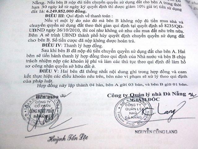 Nhà đất công ở Đà Nẵng liên quan đến Vũ