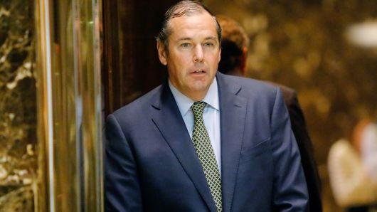Chủ tịch OPIC Ray Washburne (Ảnh: AFP)