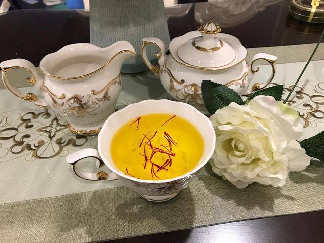 Loại nhụy hoa này được dân Việt dùng pha trà uống hàng ngày
