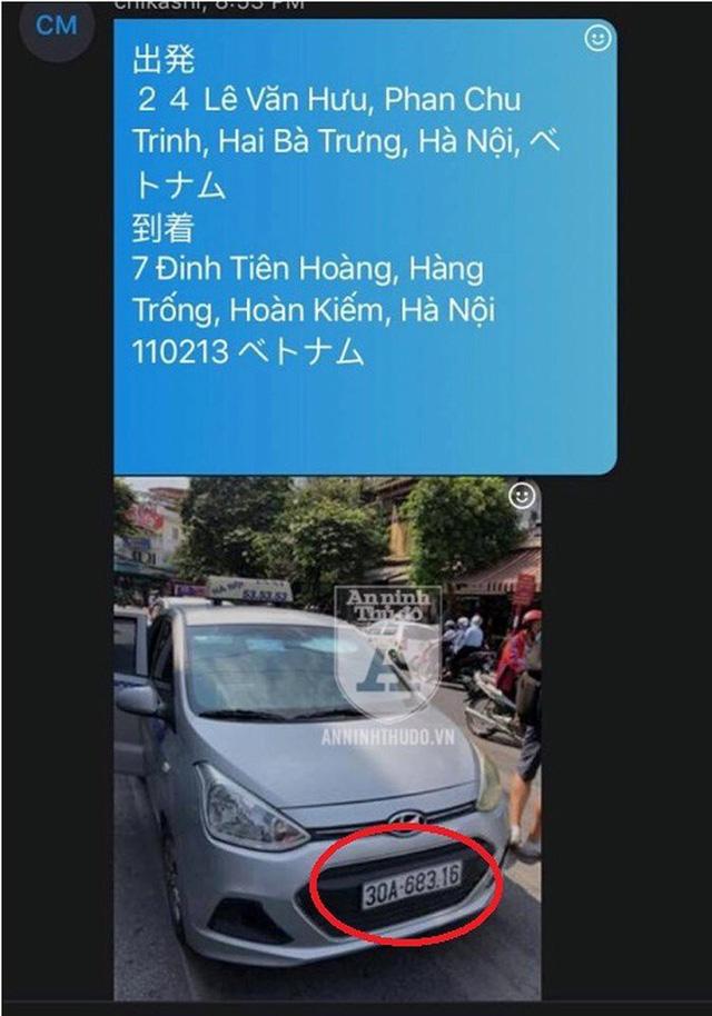Đi 2km, vị khách Nhật Bản bị taxi