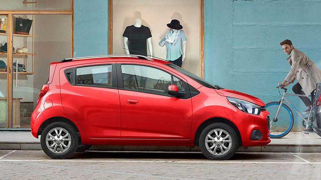 Chevrolet Spark có 6 tùy chọn màu sơn ngoại thất