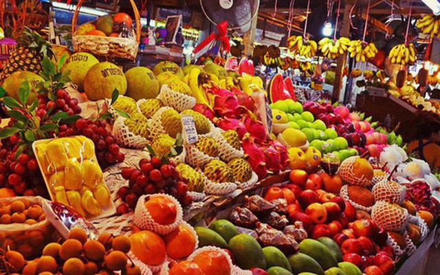 Hoa quả Thái nhập về Việt Nam tăng mạnh do người Việt sính đồ ngoại.