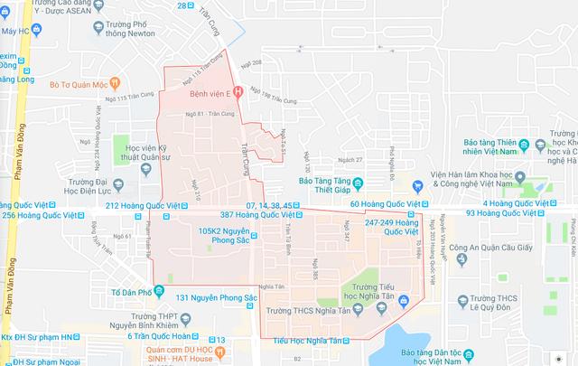 Hà Nội chuẩn bị điều chỉnh địa giới 3 quận