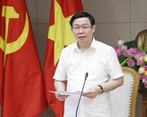 Phó Thủ tướng Vương Đình Huệ chủ trì cuộc họp chiều 21/9