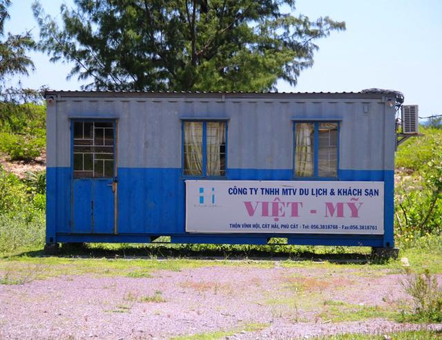Hơn 10 năm dự án Khu du lịch Khách sạn nghỉ dưỡng Vĩnh Hội do Công ty TNHH MTV Du lịch và Khách sạn Việt - Mỹ đánh dấu sự có mặt ở Vĩnh Hội chỉ có 1 thùng container.