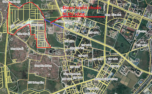 Hà Nội sắp xây đường rộng 40m qua Khu đô thị Vân Canh
