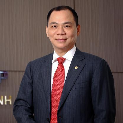 Cổ phiếu VIC của Tập đoàn Vingroup do ông Phạm Nhật Vượng làm Chủ tịch HĐQT đang là một trong những mã vốn hoá lớn chi phối chỉ số Việt Nam-Index