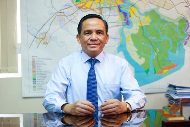 Ông Lê Hoàng Châu, Chủ tịch Hiệp hội Bất động sản TPHCM.