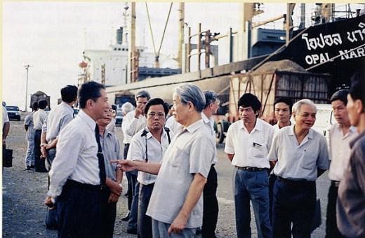 Ông Đỗ Mười rất nguyên tắc và kiên định trong bảo vệ quyền lợi nước chủ nhà của phía Việt Nam trong Liên doanh.