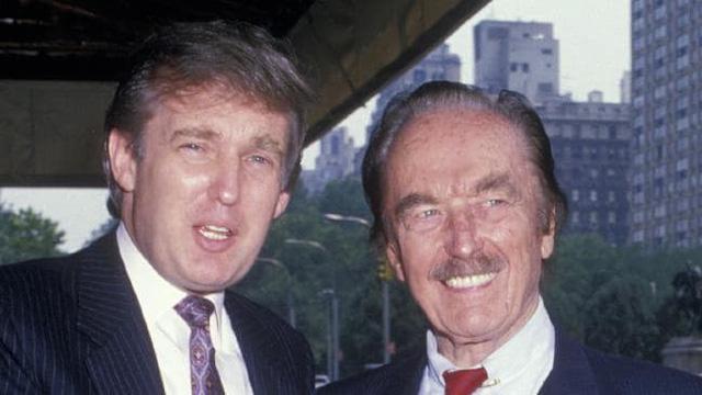 Tổng thống Donald Trump và cha - ông Fred Trump (Ảnh: Getty)