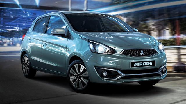 Mẫu xe cỡ nhỏ Mitsubishi Mirage được giảm giá mạnh.