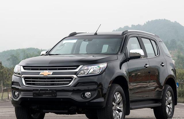 Mẫu SUV 7 chỗ ngồi Chevrolet Traiblazer cũng được giảm giá mạnh.