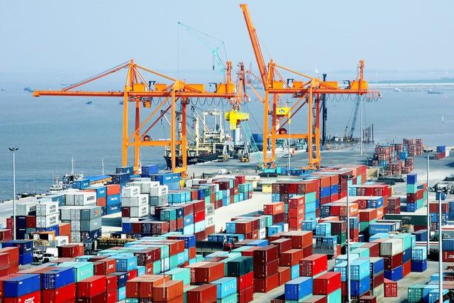 Khu vực cảng Hải Phòng