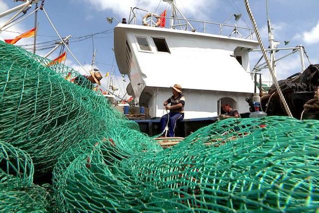 Thuyền trưởng Lin Jianchang và các ngư dân ngày càng gặp nhiều khó khăn trong việc đánh bắt cá (Ảnh: ABC)