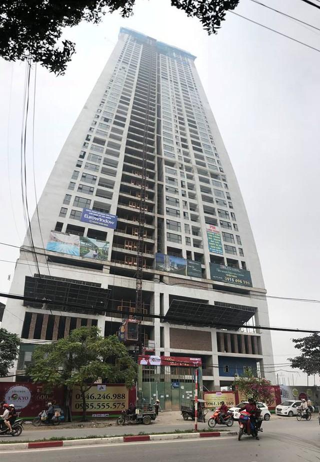 Ngân hàng PVcomBank đã thực hiện thu giữ tài sản đảm bảo tại dự án Tokyo Tower (Hà Đông, Hà Nội) để xử lý nợ xấu.